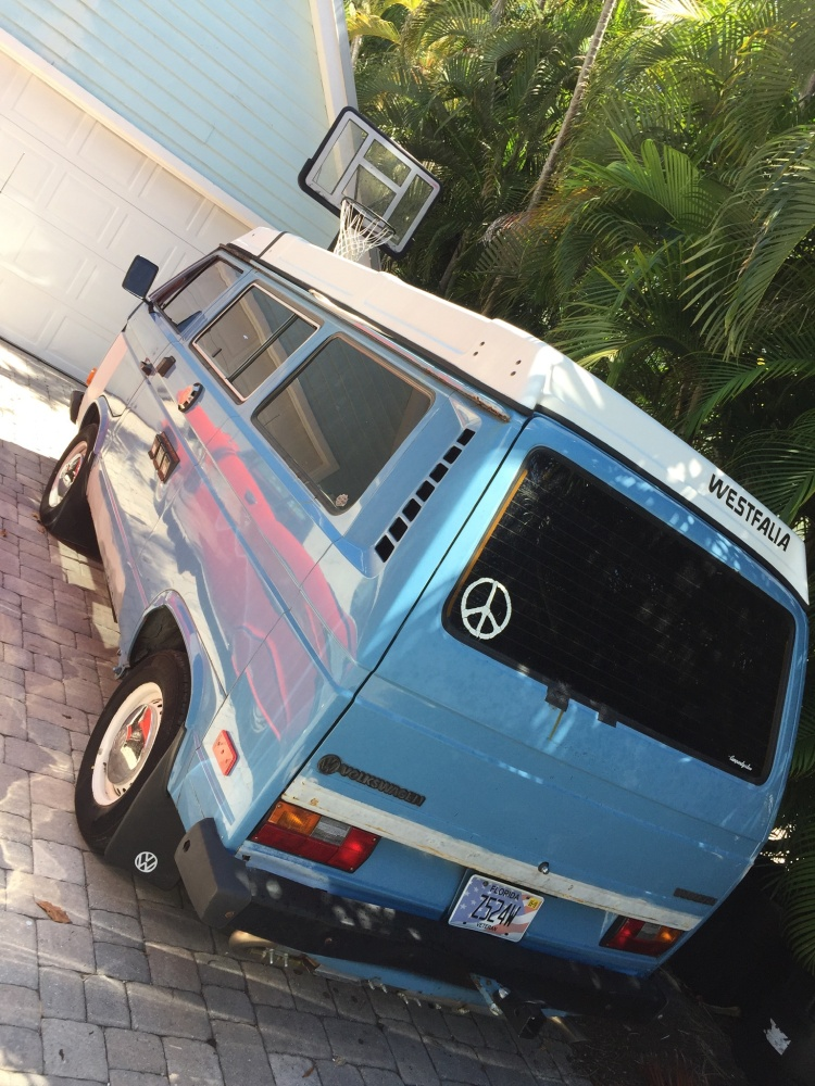 VW Volkswagen Vanagon High top Conversion overland